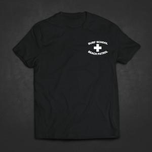SRFSCHL_BP Logo Breast Black