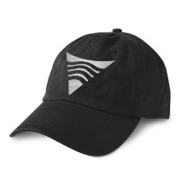 SRFSCHL Shark Tooth Hat Black